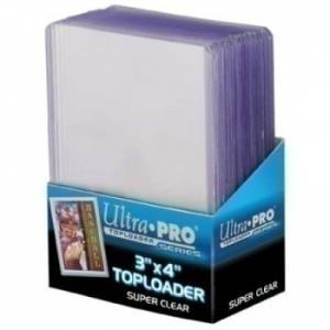 Ultra-Pro Toploaders 3x4 Super Clear Premium (25 шт.)