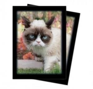 Протекторы Ultra-Pro «Grumpy Cat Flowers» (50 шт., 66х91 мм)
