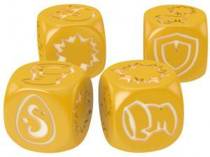 Кубики для Кросмастера: матовые желтые (4 штуки)