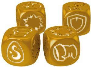 Кубики для Кросмастера: золотые (4 штуки)