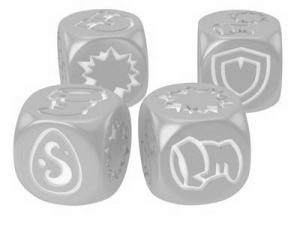 Кубики для Кросмастера: матовые серые (4 штуки)