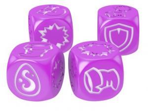 Кубики для Кросмастера: розовые (4 штуки)