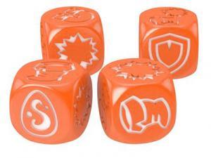Кубики для Кросмастера: оранжевые (4 штуки)