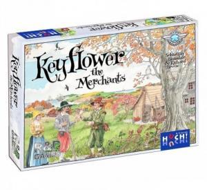 """Дополнение """"Купцы"""" для игры Keyflower + промо Key Celeste"""